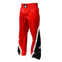Adidas Kickboxing Hose schwarz/rot