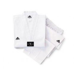Taekwondo Anzug Adidas ELITE weißes Revers