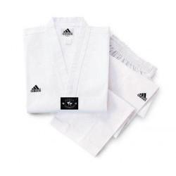 Taekwondo Anzug Adidas Adichamp weißes Revers