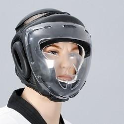 Kopfschutz mit Plexiglas-Visier