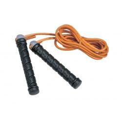 Springseil Leder mit Griffgewichten Jump Rope