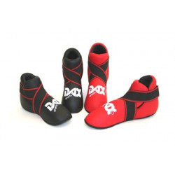 Fußschutz CLASSIC rot, schwarz