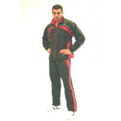 Trainingsanzug NEW YORK schwarz/rot/weiß