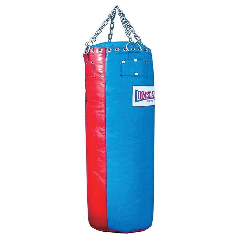 Lonsdale Leder Boxsack 100