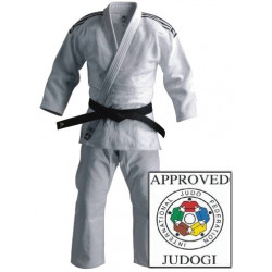 Judoanzug Adidas Champion Gi IJF weiß