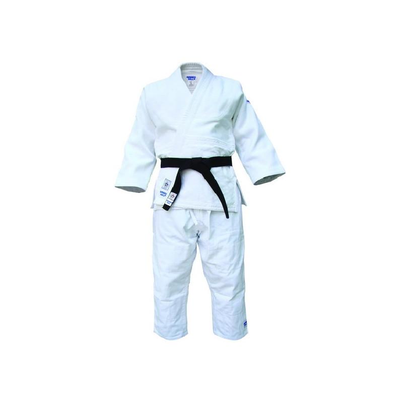 IJF Judoanzug Green Hill Olympic Judogi weiss